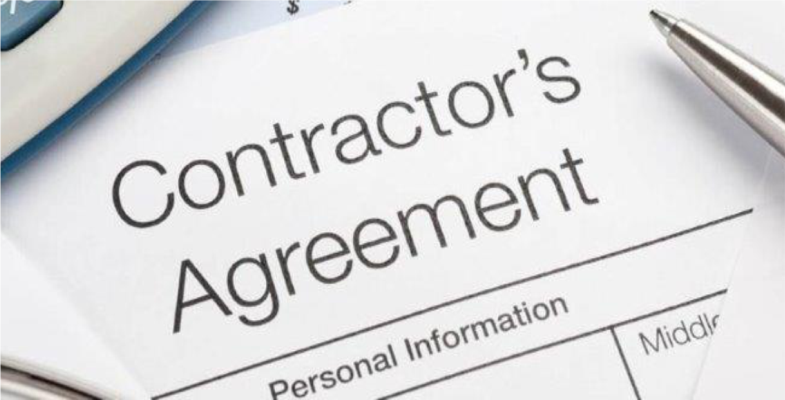 contractors agreement